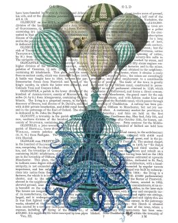 Octopus Cage and Balloons