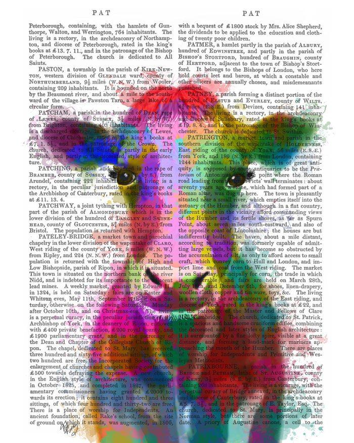 Cow Rainbow Splash