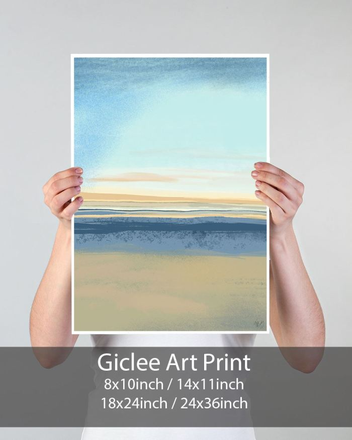 Summer Horizon 1 Art Print