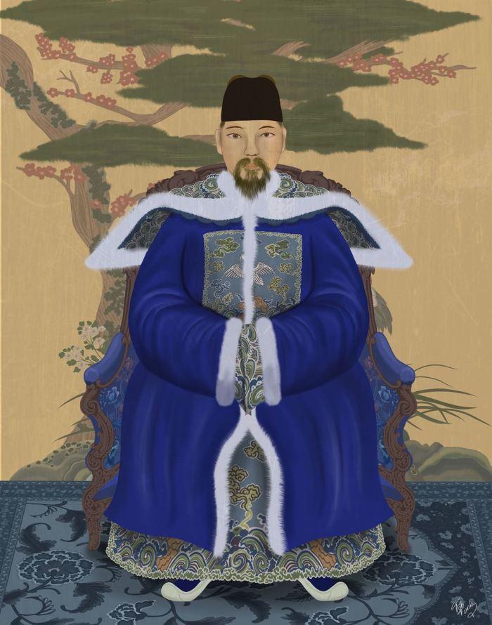 Emperor 1 Blue in Garden