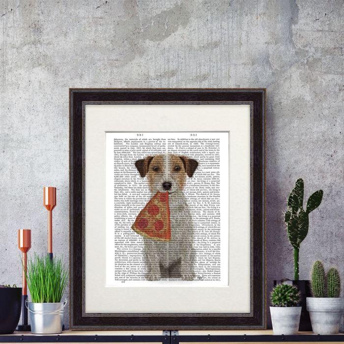 Dog Book Print