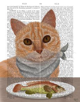 Ginger Cat Fish Dinner