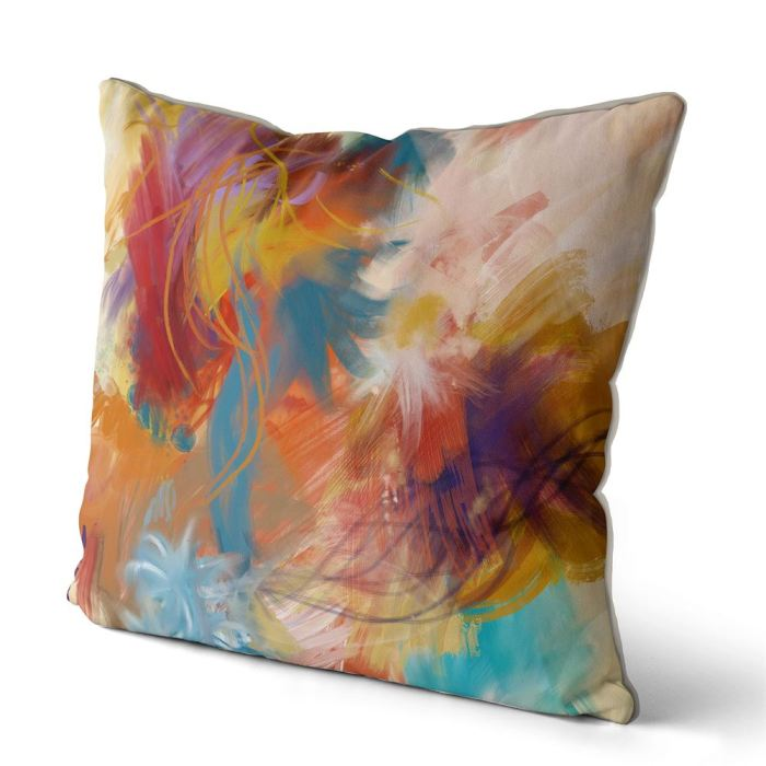 Abstract Cushion / Throw Pillow FabFunky Cushion Collection