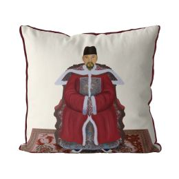 Chinese Emperor 1_Red On Cream