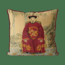 Chinese Emperor 2_Red In Garden