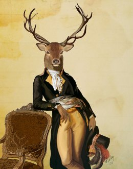 Deer and Chair
