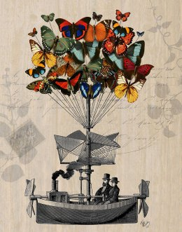 Butterfly Airship