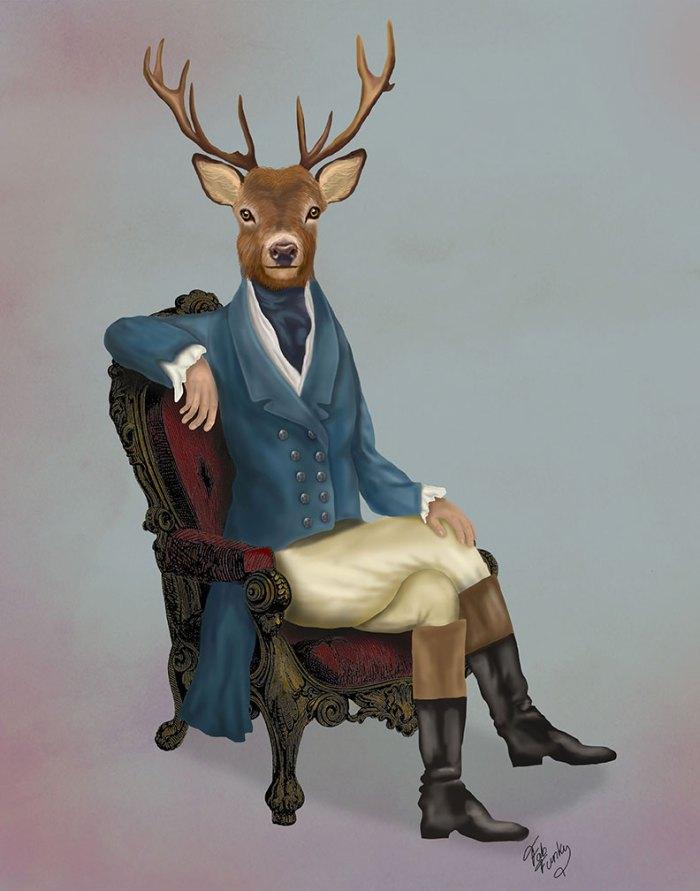 Distinguished Deer