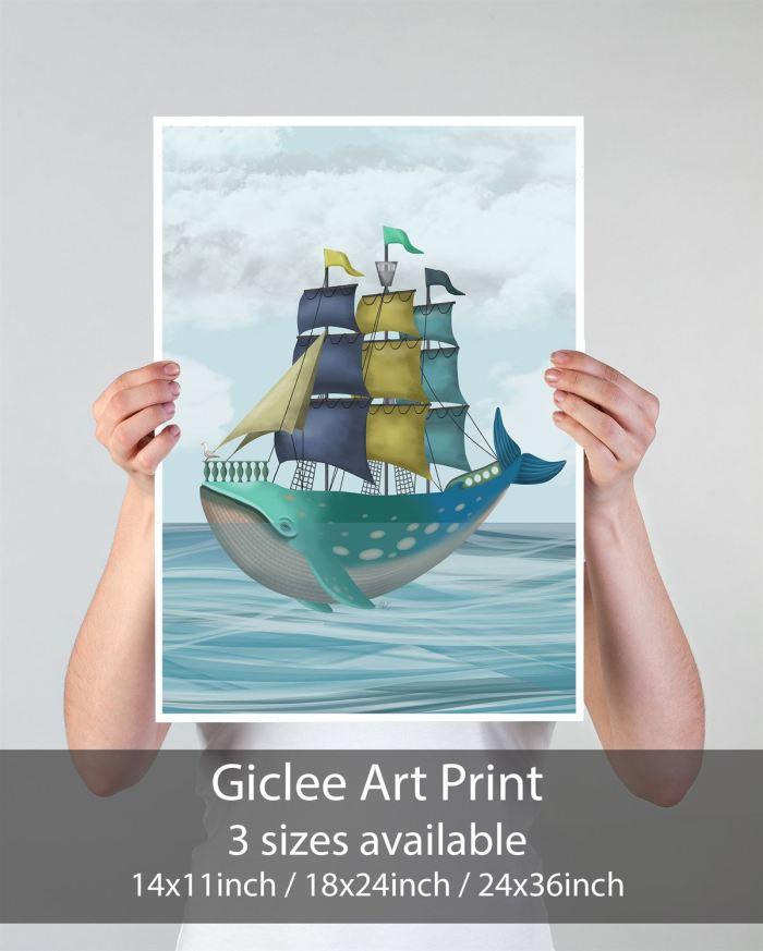 Coastal art Print 14x11inch