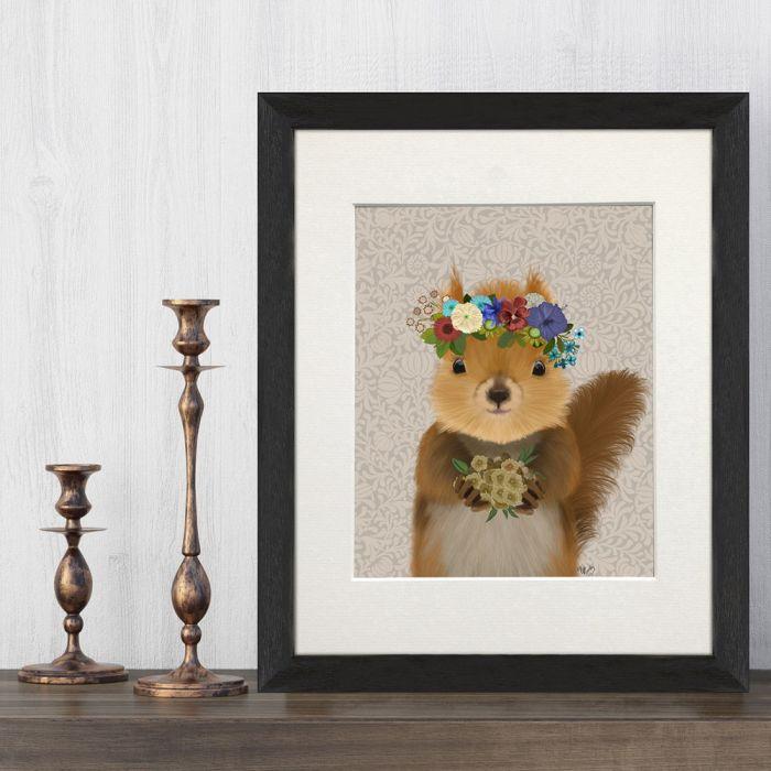 Squirrel Bohemian