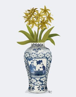 Chinoiserie Day Lily Lemon