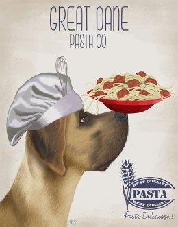 Great Dane Fawn Pasta Cream