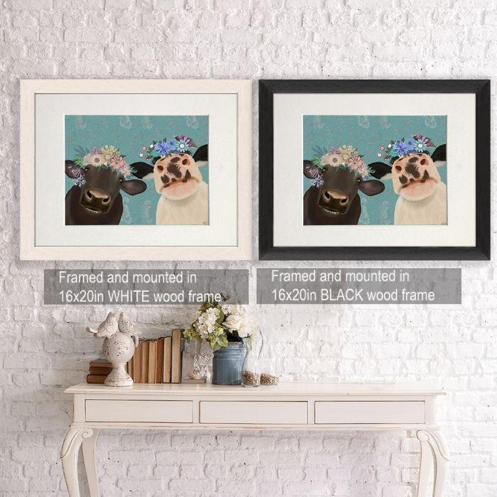 Wall Art  Framed Black -