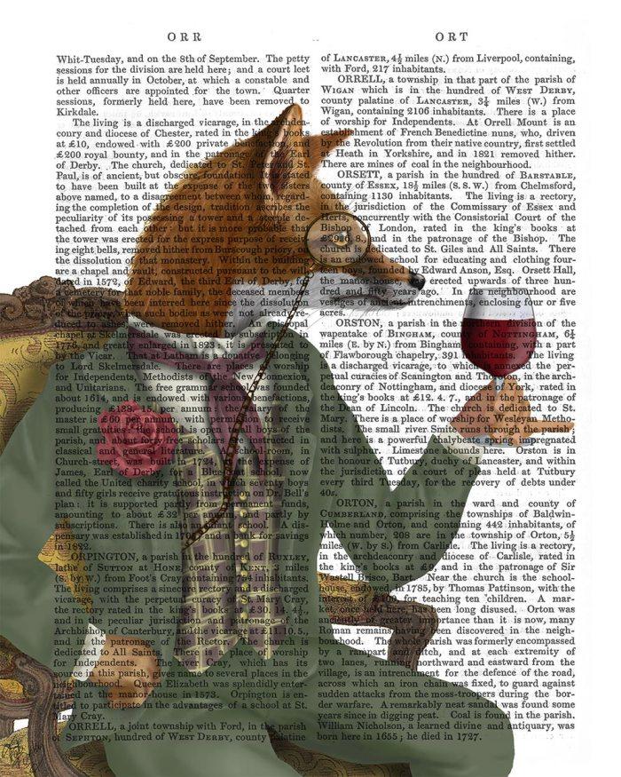 Wine Taster Fox