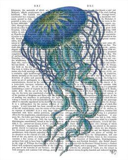 Blue Jellyfish 1