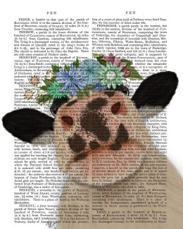 Cow with Flower Crown 2