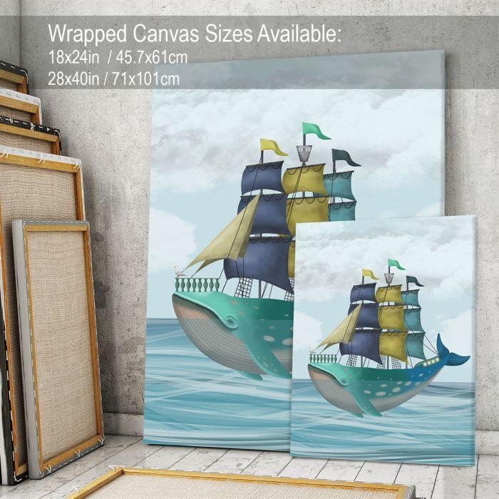 Coastal art Canvas 28x40inch