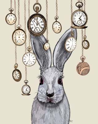 Rabbit Time on Cream