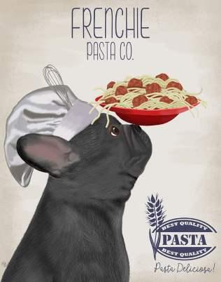French Bulldog Black Pasta Cream