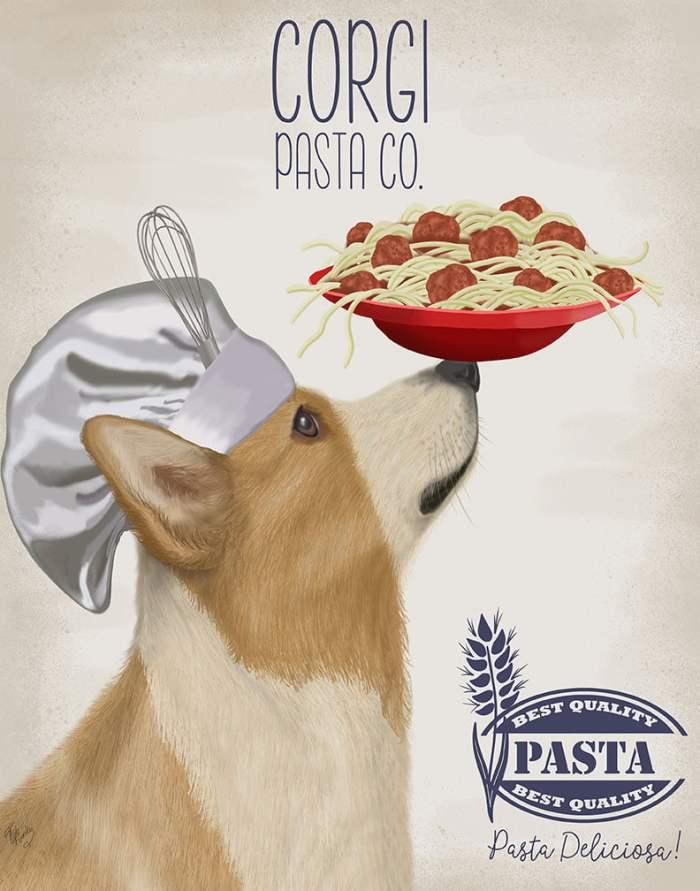 Corgi Tan White Pasta Cream