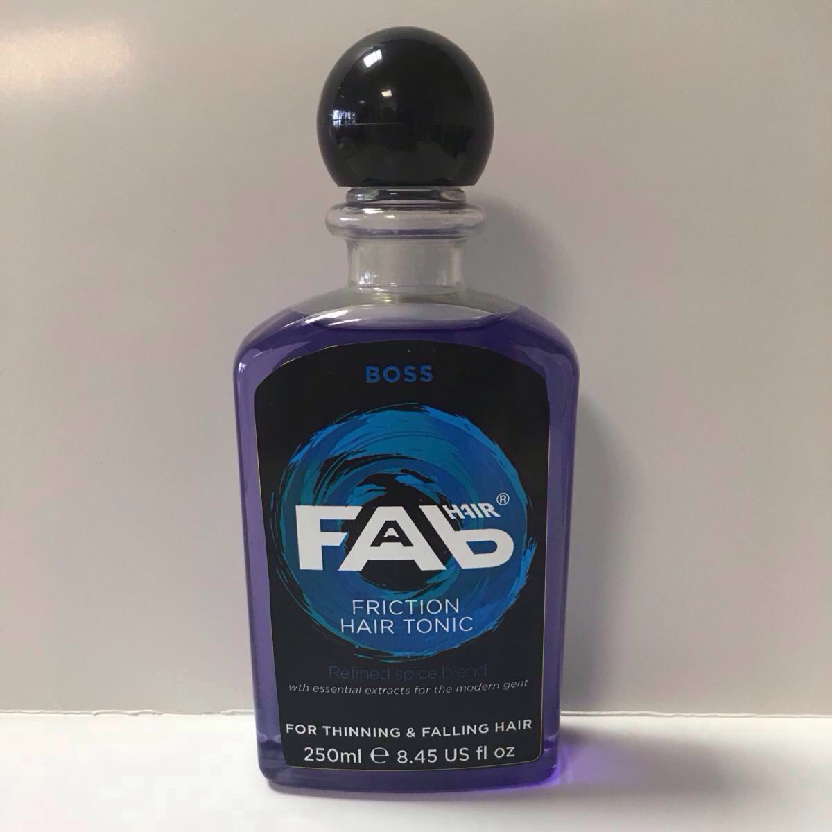 boss FAB hair friction tonic