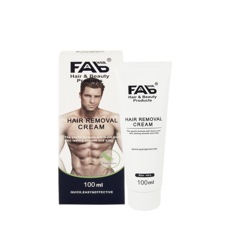 Hair Removal Cream 100ml by FAB Hair and Beauty