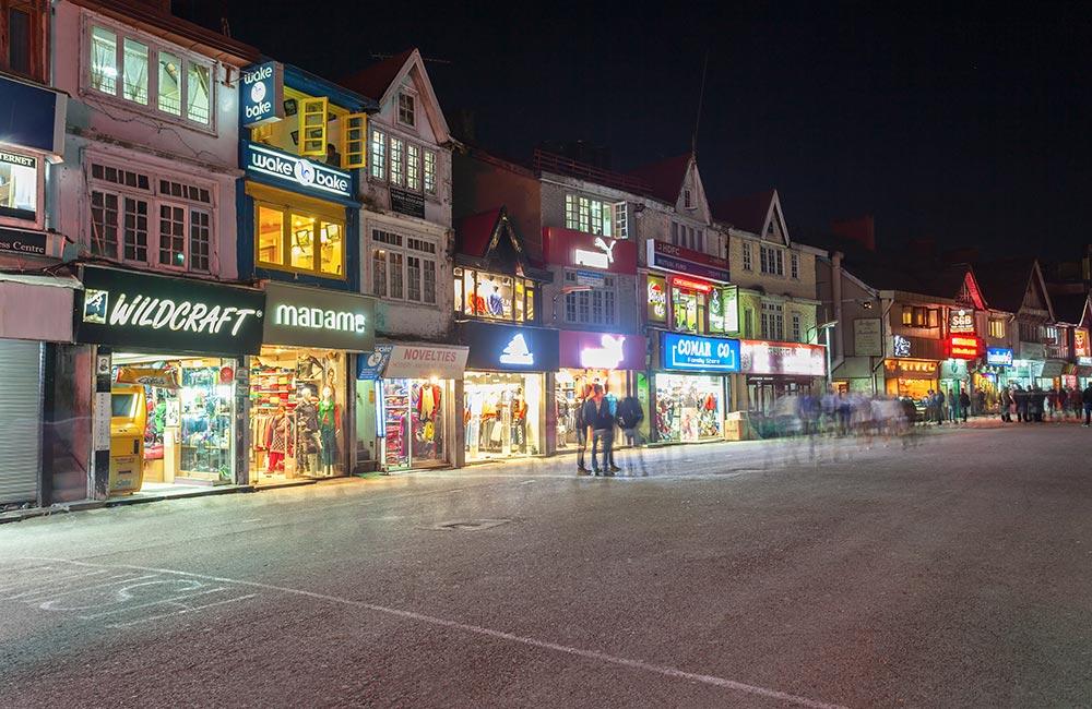 Mall Road,Shimla