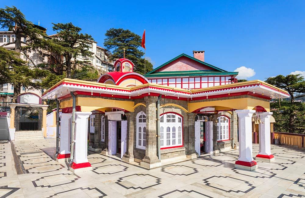 Kali Bari Temple,Shimla