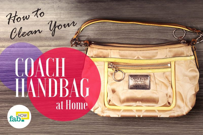 How To Clean Your Coach Handbag And Make It Look New 635f68e732ac4