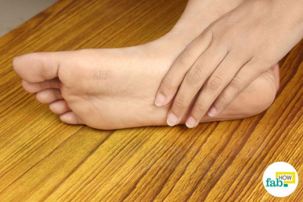 Cleaned feet
