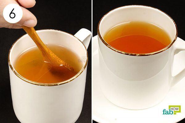 ginger tea for phlegm