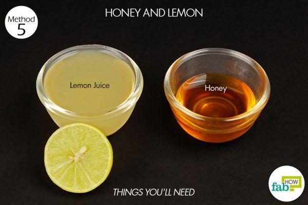 honey and lemon for phlegm