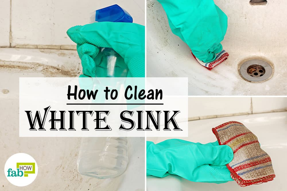 Amazing How To Clean A White Porcelain Sink And Restore Its Shine With How  To Clean White Porcelain Kitchen Sink