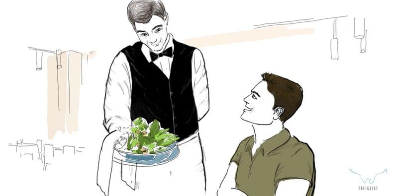 gesetz der anziehung salat