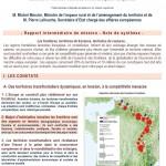 rapport transfrontalier