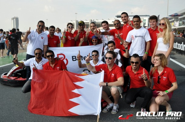 Fabienne and Batelco Team clinch 24hr Kart Championship in Dubai