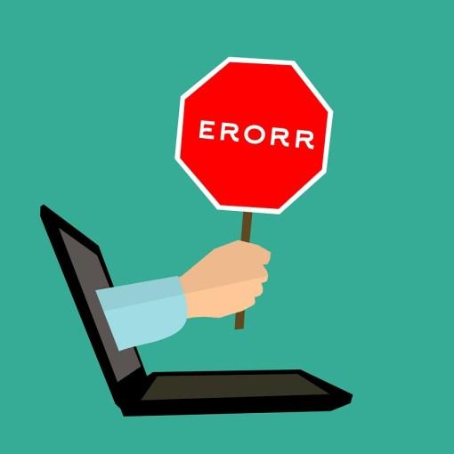 l'importanza dell' errore