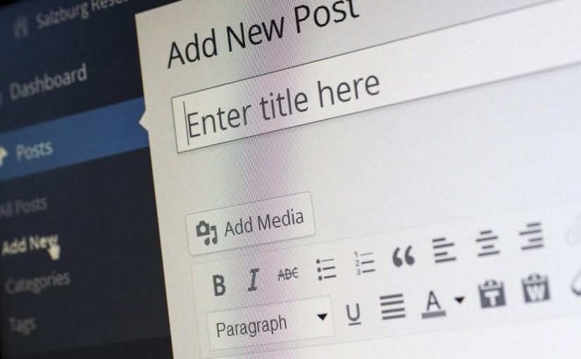 La nascita del blog
