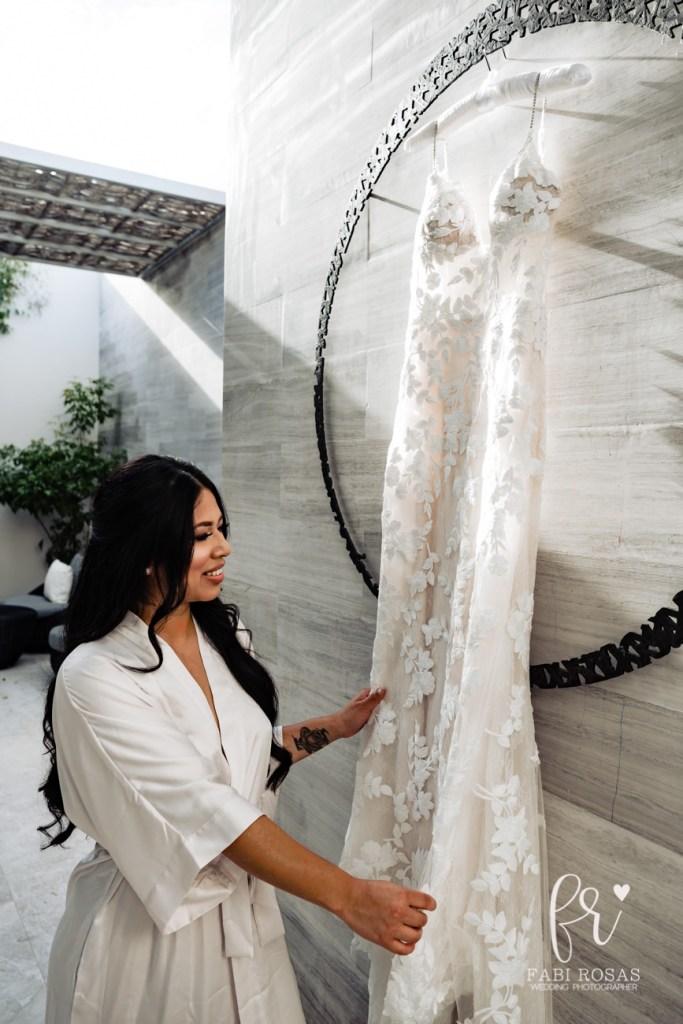 bride and dress- solaz wefdding