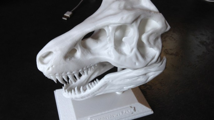 Tête Tyrannosaurus Rex