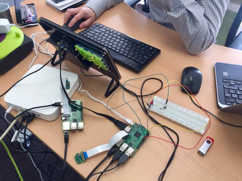 Circuit piloté par un raspberry pi