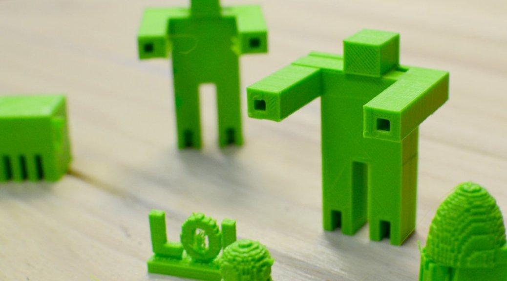 3d Druck Minecraft