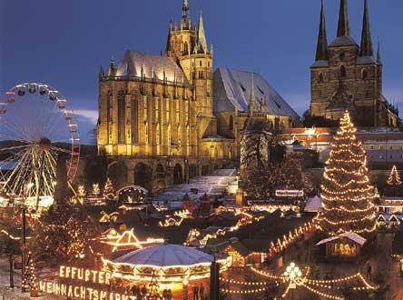 Il mercatino di Natale di Erfurt