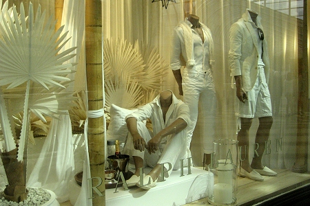 Ralph Lauren Display Window