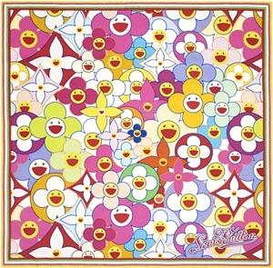 Louis Vuitton Cosmic Blossom Square
