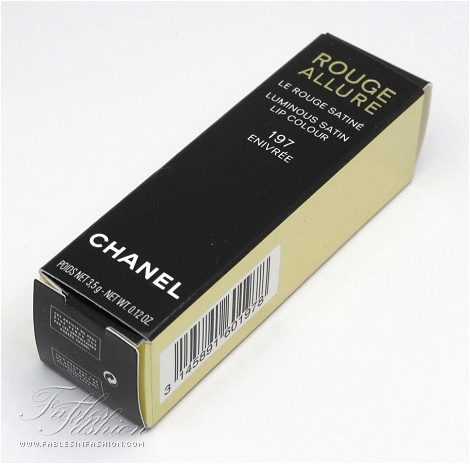 Chanel Rouge Allure Lip Colour - 197 Enivree