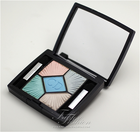 Dior 'Le Croisette' 5-Color Palette Summer 2012 - Swimming Pool