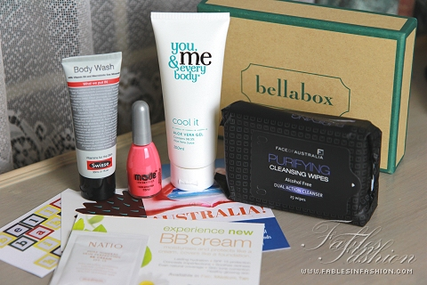 January 2013 Bella Box