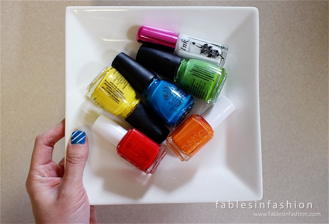 Candy Crush Nail Art Fables In Fashion