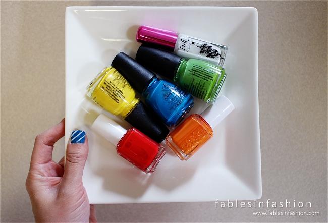 Candy Crush Nail Art